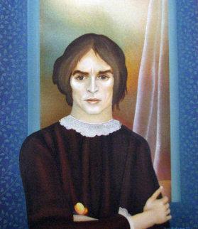 Nureyev 1977 24x15 Original Painting by Igor Galanin
