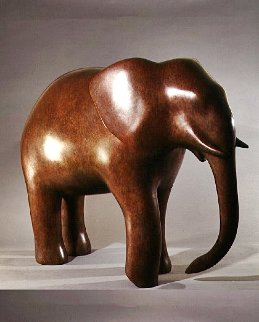 Elephant Bronze Sculpture 2000 31 in Sculpture - Igor Galanin