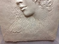 Angela Cast Paper Sculpture 1981 35 in Limited Edition Print by Frank Gallo - 2