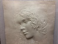 Angela Cast Paper Sculpture 1981 35 in Limited Edition Print by Frank Gallo - 1