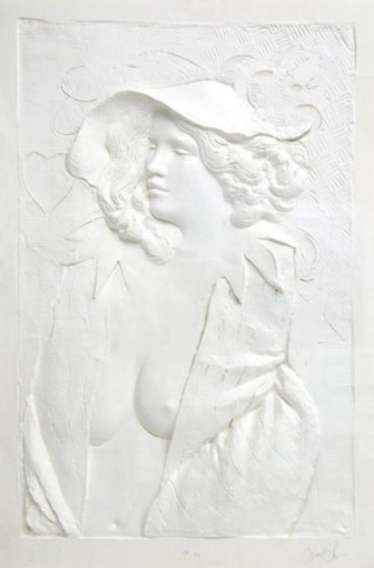 Actress Cast Paper Sculpture 1980 49x37 Limited Edition Print by Frank Gallo