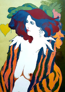 Carole Limited Edition Print - Frank Gallo
