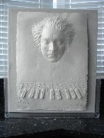 Beethoven Foundation Cast Paper  Sculpture 1985 Sculpture by Frank Gallo - 3