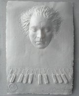 Beethoven Foundation Cast Paper  Sculpture 1985 Sculpture by Frank Gallo - 0
