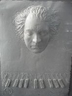 Beethoven Foundation Cast Paper  Sculpture 1985 Sculpture by Frank Gallo - 4