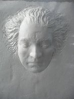 Beethoven Foundation Cast Paper  Sculpture 1985 Sculpture by Frank Gallo - 2