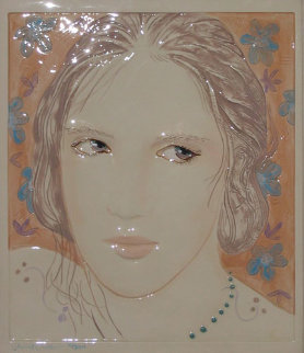 Untitled Tile - Relief Sculpture Sculpture by Frank Gallo