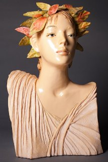 Primavera Resin Sculpture 1988 Sculpture by Frank Gallo