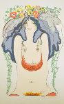 Flowers in Her Hair Limited Edition Print - Frank Gallo