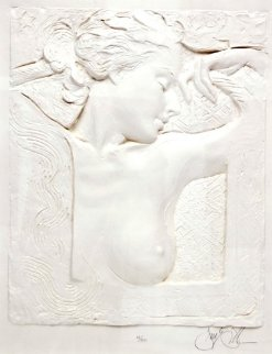 Untitled Bust Cast Paper 1989 Limited Edition Print by Frank Gallo
