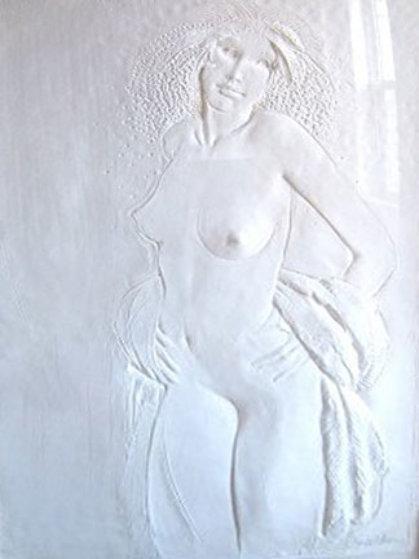 Dancer Cast Paper Sculpture 1978 Sculpture by Frank Gallo