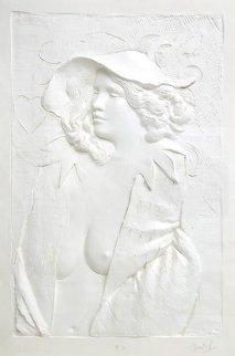 Actress Cast Paper Sculpture 1980 64x46 Super Huge  Limited Edition Print - Frank Gallo