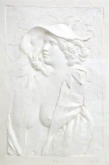 Actress Cast Paper Sculpture 1980 64x46 Limited Edition Print by Frank Gallo