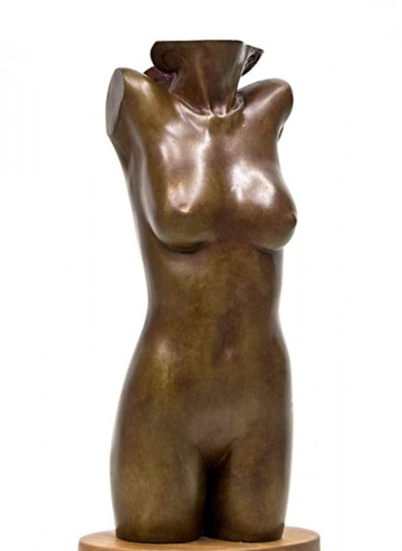 Galetea Bronze Sculpture AP 1988 15 in Sculpture by Frank Gallo