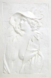 Actress Cast Paper Sculpture 1980 47x59 Super Huge Limited Edition Print - Frank Gallo