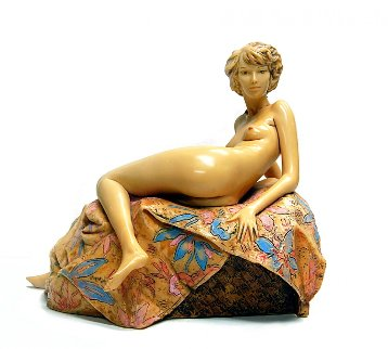 Awakening Beauty Resin Sculpture AP 1987  Sculpture - Frank Gallo