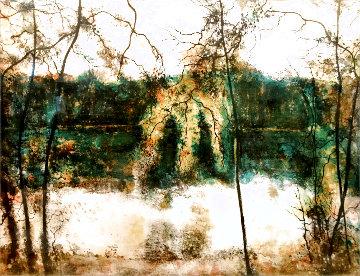 Untitled Landscape 1960 Limited Edition Print - Bernard Gantner