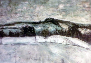 Untitled Landscape Limited Edition Print - Bernard Gantner