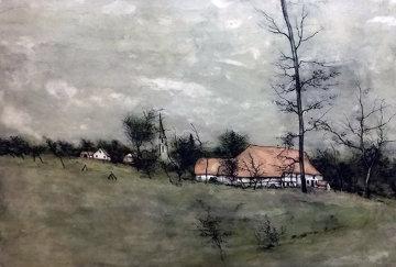 Untitled (Cottage) 1980 Limited Edition Print by Bernard Gantner