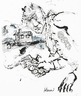 Bandito 1992 Limited Edition Print - Jerry Garcia