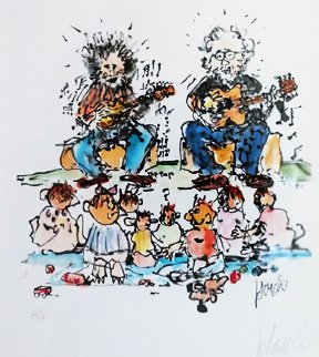 Not For Kids Only AP 1993 Limited Edition Print - Jerry Garcia