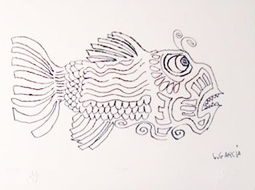 Fish 2002 Limited Edition Print by Jerry Garcia