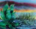 Wetlands II 1990 Limited Edition Print - Jerry Garcia