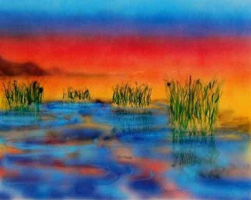 Wetlands HS 1989 Limited Edition Print by Jerry Garcia