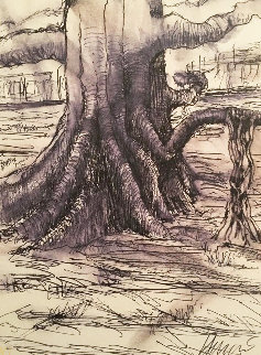 Banyan Tree 1991 HS Limited Edition Print - Jerry Garcia