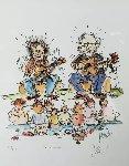 Garcia / Grisman 1991 HS Limited Edition Print - Jerry Garcia