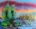 Wetlands II 1990 HS Limited Edition Print - Jerry Garcia