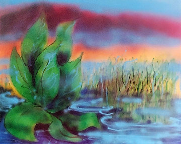 Wetlands II 1990 Limited Edition Print by Jerry Garcia