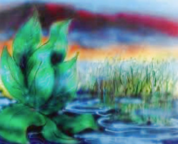 Wetlands I And II 1992 Set of 2 Limited Edition Print - Jerry Garcia