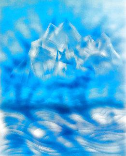 Blue Iceberg 1991  Limited Edition Print - Jerry Garcia