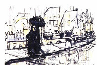 Paris in the Rain 1993 Limited Edition Print by Jerry Garcia - 0