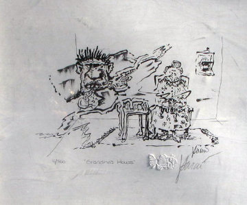 Grandma's House HS Limited Edition Print by Jerry Garcia