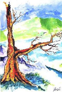 Irish Tree 1991 Limited Edition Print - Jerry Garcia