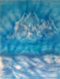 Blue Iceberg Limited Edition Print by Jerry Garcia