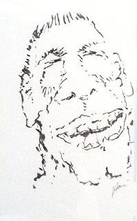 Arggh Drawing 1992 18x14 Original Painting - Jerry Garcia