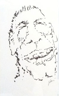 Arggh Drawing 1992 18x14 HS Original Painting - Jerry Garcia