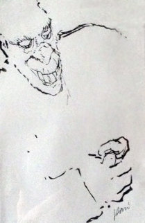 Greed Drawing 1992 Drawing - Jerry Garcia