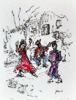 Flamenco Dancer 1992 Limited Edition Print by Jerry Garcia