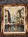 Campo de Miracali 1960 25x21 Original Painting by Danny Garcia - 1