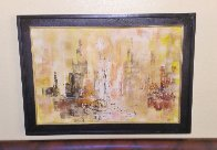 Untitled Painting 1964 30x42 Original Painting by Danny Garcia - 1