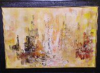 Untitled Painting 1964 30x42 Original Painting by Danny Garcia - 2