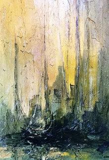 Untitled Painting 1968 45x33 Original Painting - Danny Garcia