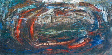 Fish 1960 30x54 Original Painting by Danny Garcia