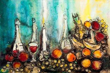 Still Life 1972 29x41 Original Painting - Danny Garcia