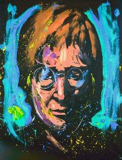 John Lennon 2013 60x36 Original Painting by David Garibaldi