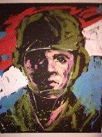 Soldier #3 2014 68x57 Super Huge Original Painting by David Garibaldi - 1